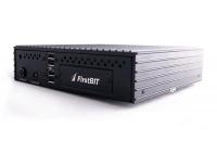 POS компьютер FirstBIT Черный, Intel Atom D425 1.86GHz, 320 GB HDD, 2 GB DDR2 RAM. Без ОС. Ребристый корпус ускоряет охлаждение ПК.
